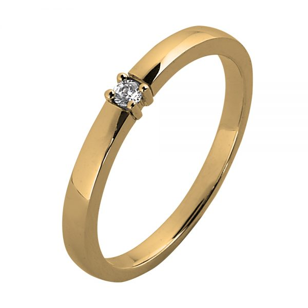 aa serie ring 0.05ct