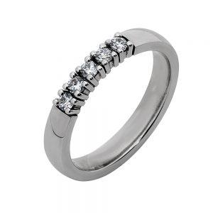 ab serie ring 5x0.05ct