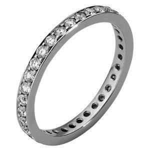 Handgemaakte smalle ring
