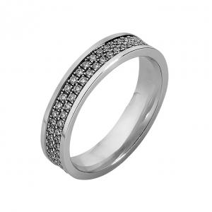 De diamanten ring